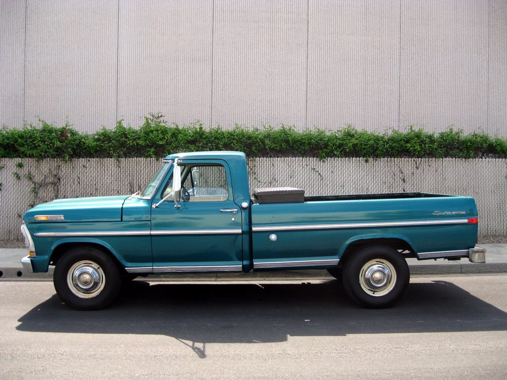 1971 Ford F250 Truck 590000 Auto Heavy Chevy Wiring Diagram