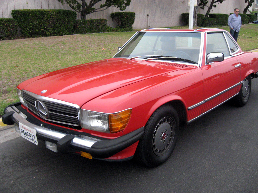 1984 Mercedes 380SL SOLD