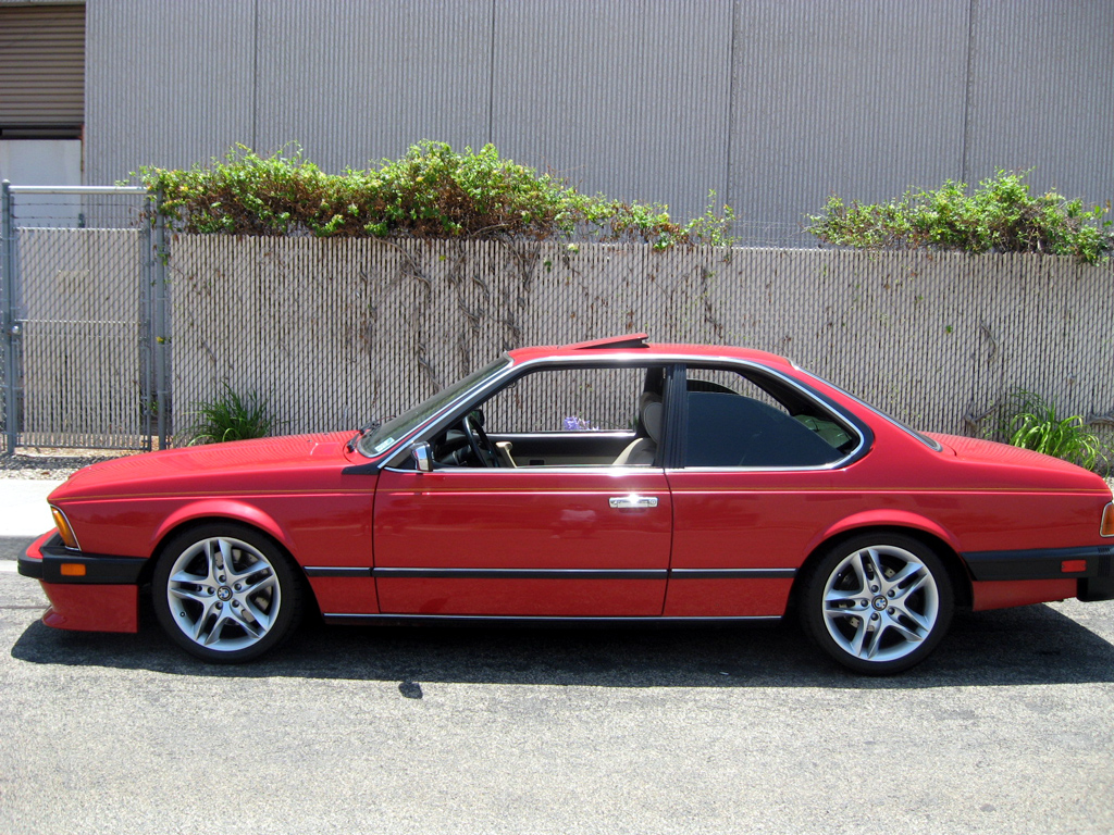 1987 bmw 635csi coupe  1987 bmw 635csi coupe