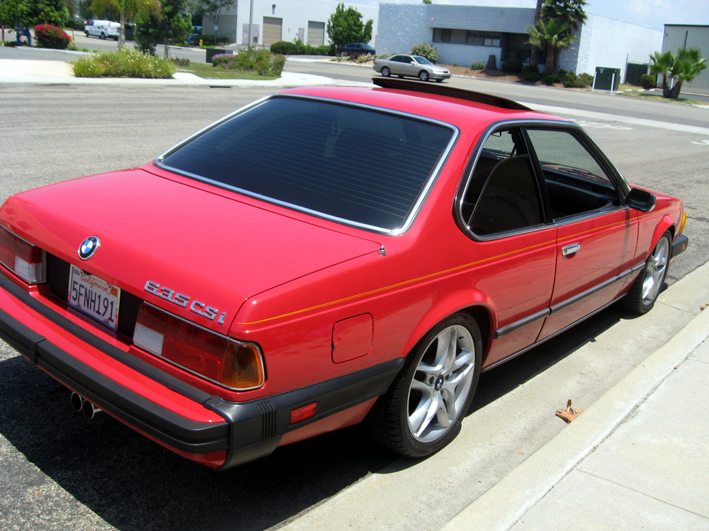 1987 BMW 635CSI Coupe