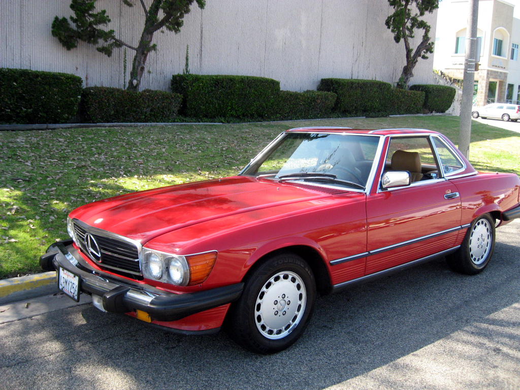 1989 Mercedes 560SL Convertible