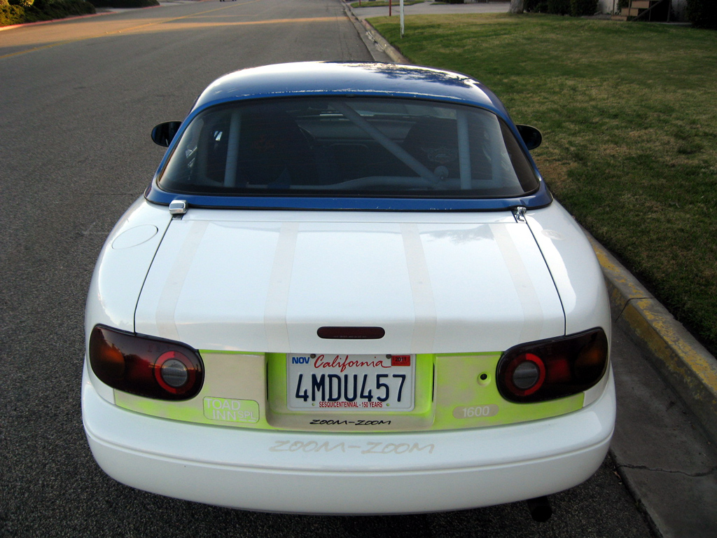 1991 Mazda Miata Spec Track Car - SOLD