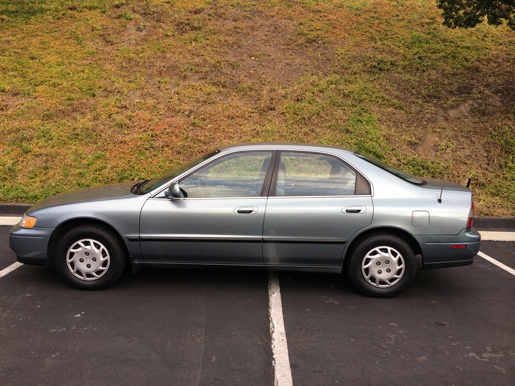 1994 Honda Accord Lx 1994 Honda Accord Lx Sedan 3 400