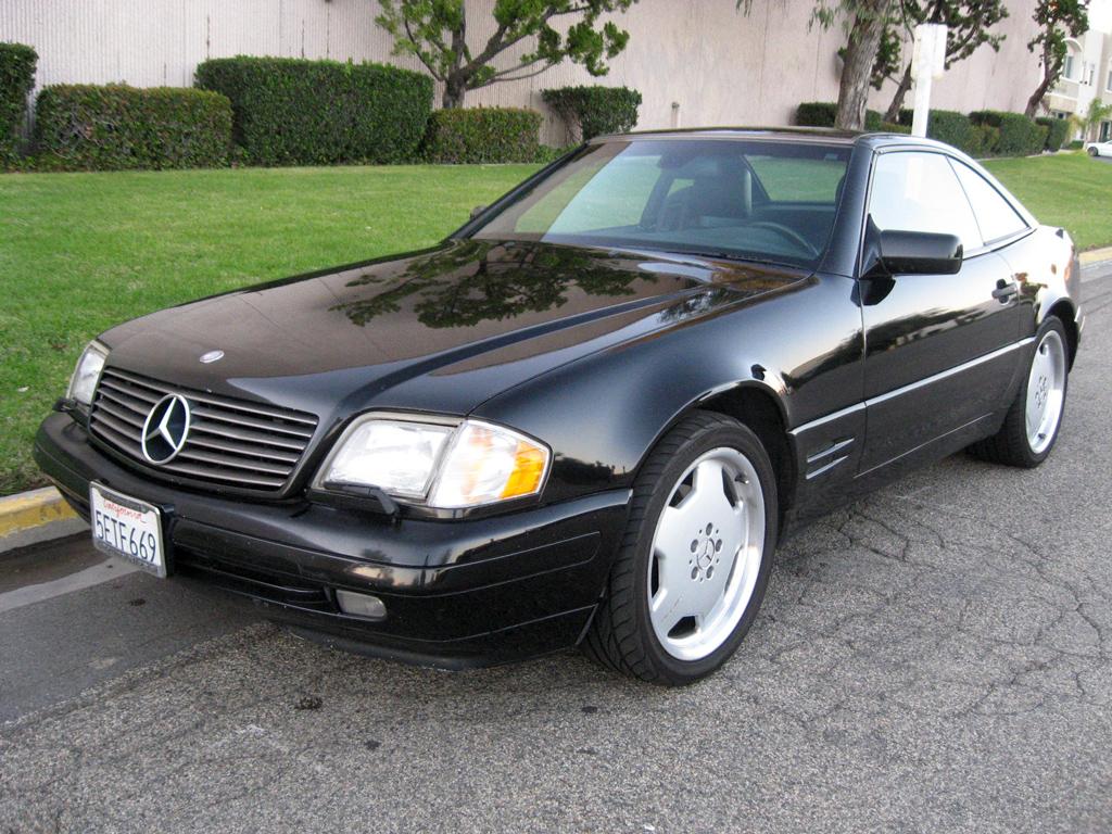 1997 Mercedes Sl500 Convertible Sold 1997 Mercedes