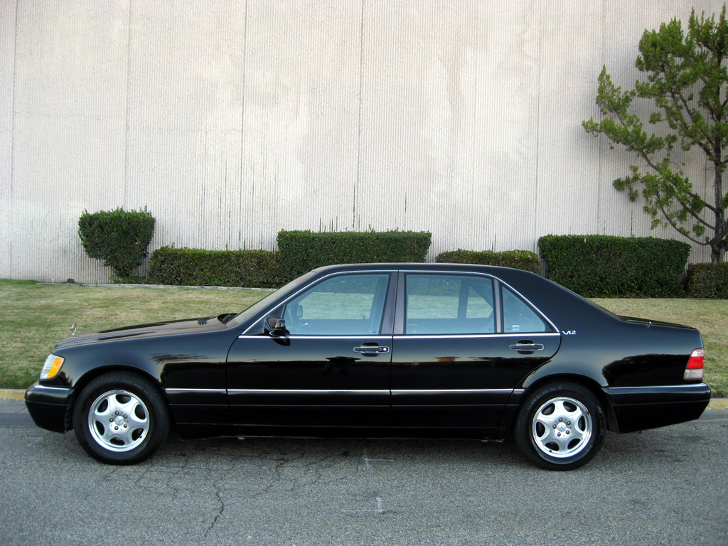 1998 mercedes s600 sedan sold 1998 mercedes s600 sedan for Mercedes benz s600 coupe