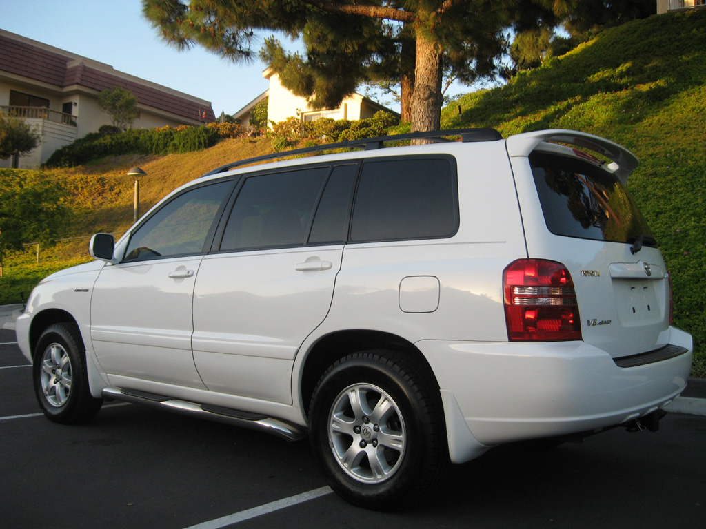 2001 Toyota Highlander Limited AWD - SOLD