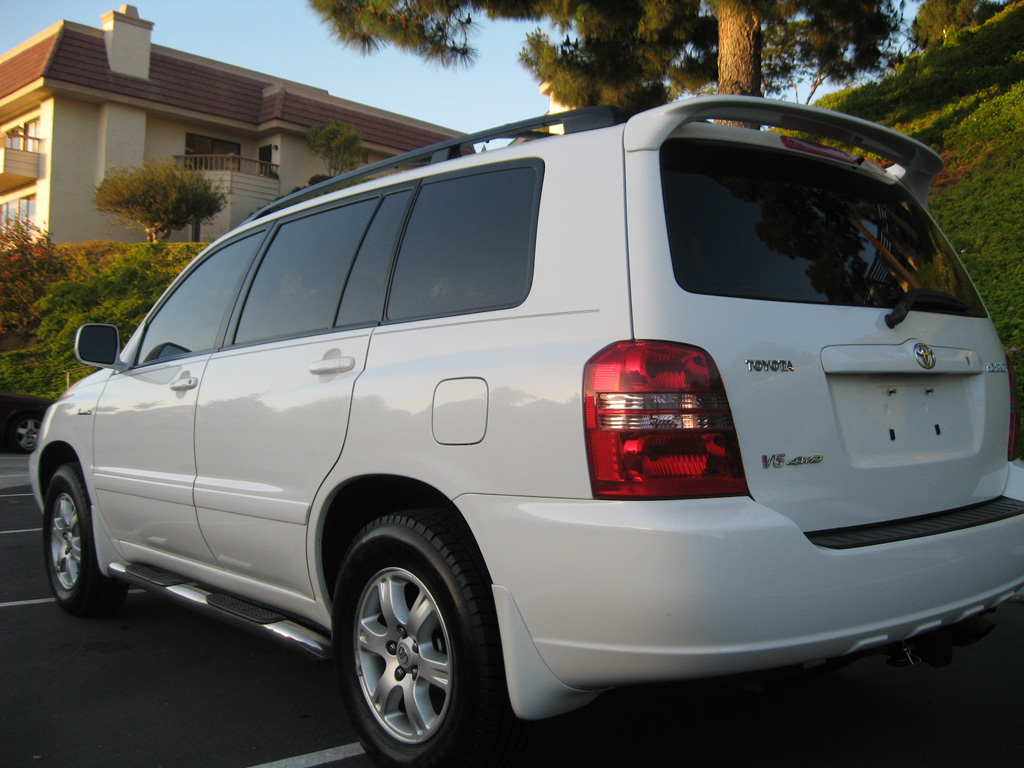 Toyota Oil Change >> 2001 Toyota Highlander Limited AWD - Toyota Highlander ...