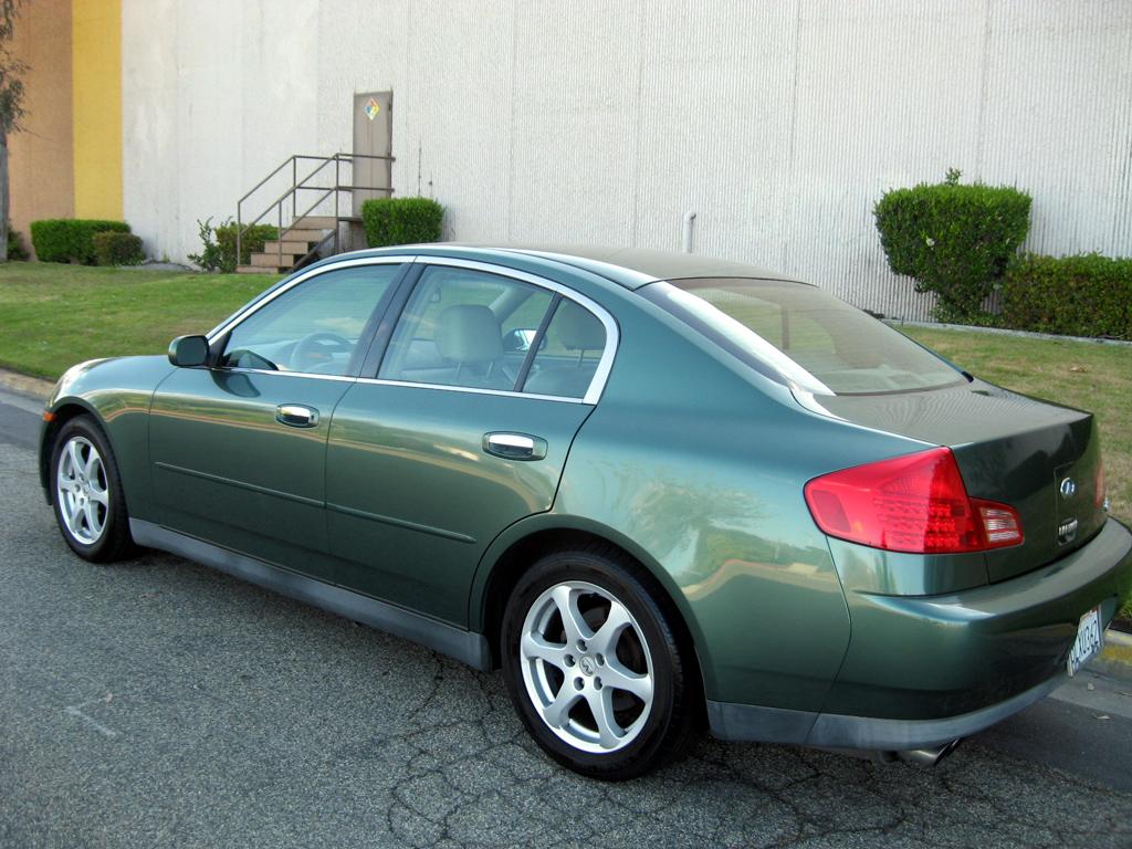 2003 infiniti g35 sedan sold 2003 infiniti g35 sedan. Black Bedroom Furniture Sets. Home Design Ideas