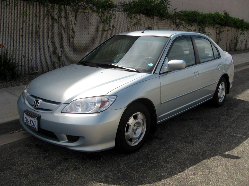 2004 Honda Civic Hybrid Sold