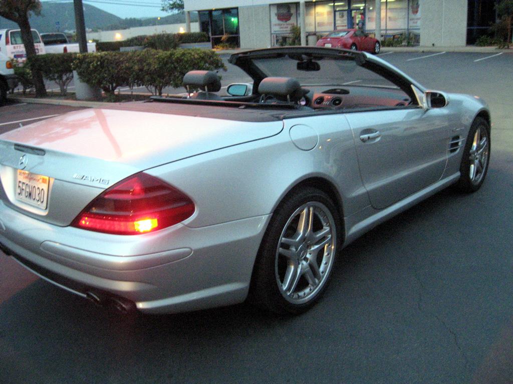 2004 mercedes sl55 amg sold 2004 mercedes sl55 amg for Mercedes benz sl55 amg specs