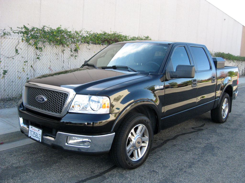 2005 Ford F150 Supercrew Dimensions