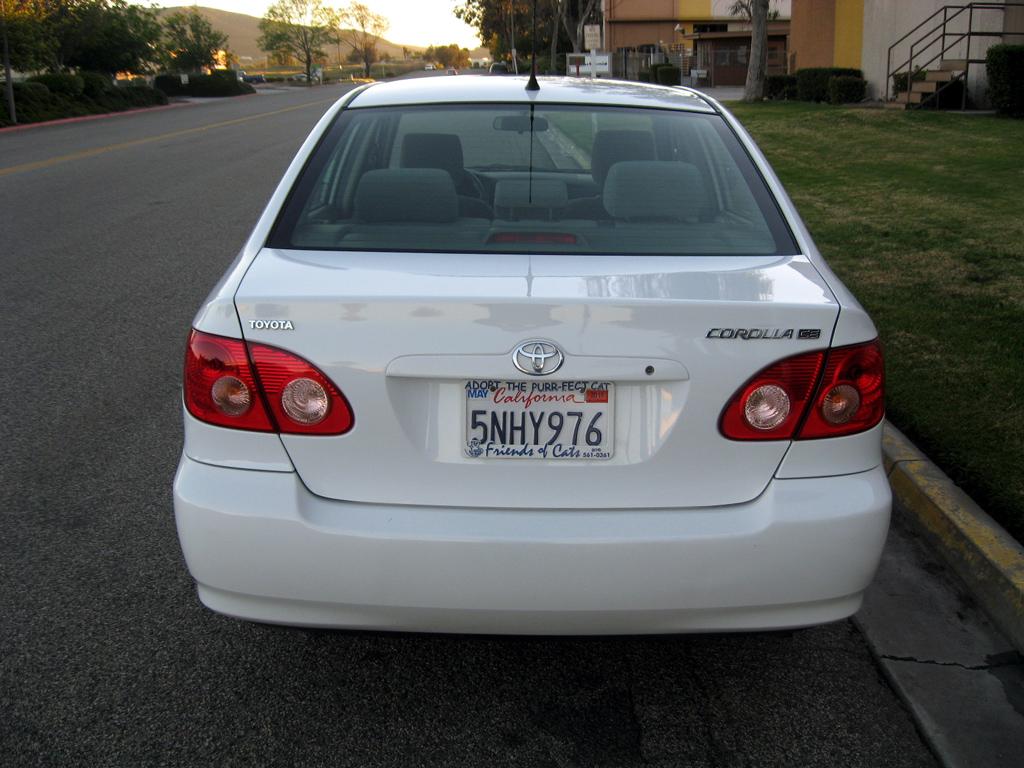 Toyota Corolla Mpg >> 2005 Toyota Corolla CE - SOLD [2006 Toyota Corolla CE] - $7,400.00 : Auto Consignment San Diego ...