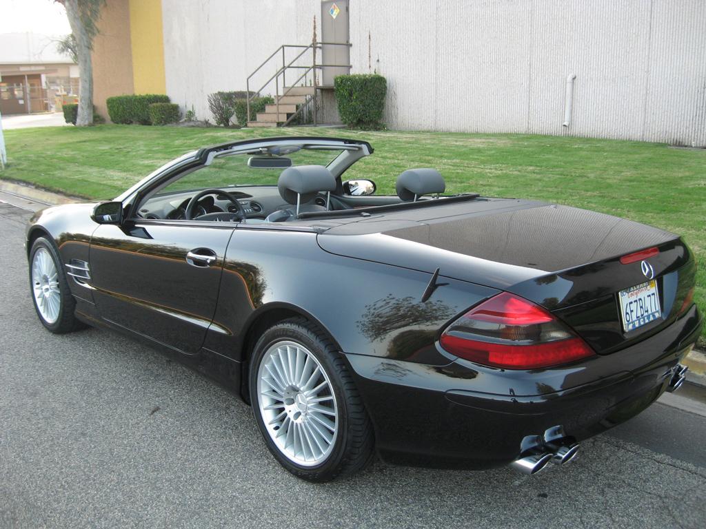 2003 Mercedes Sl500 Silver On Black San Marcos