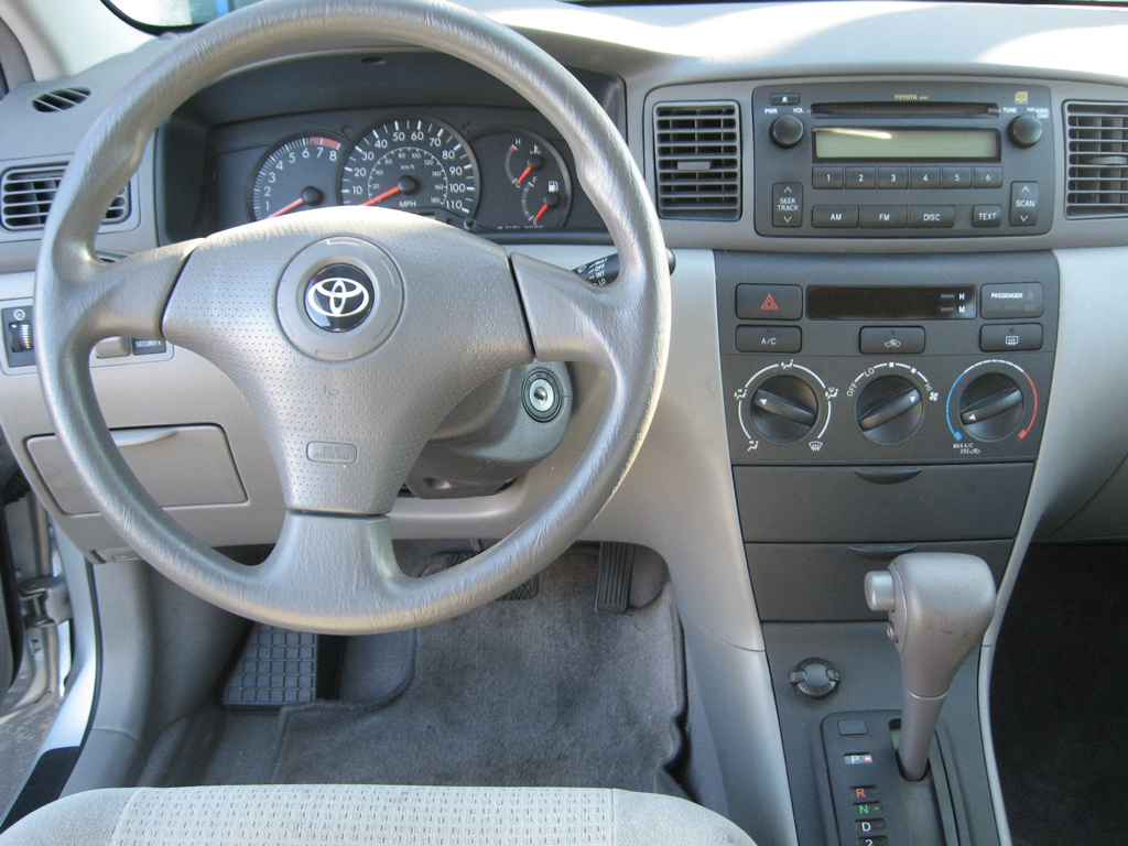 Fiat San Diego >> 2006 Toyota Corolla CE Silver on Gray cloth - Auto ...