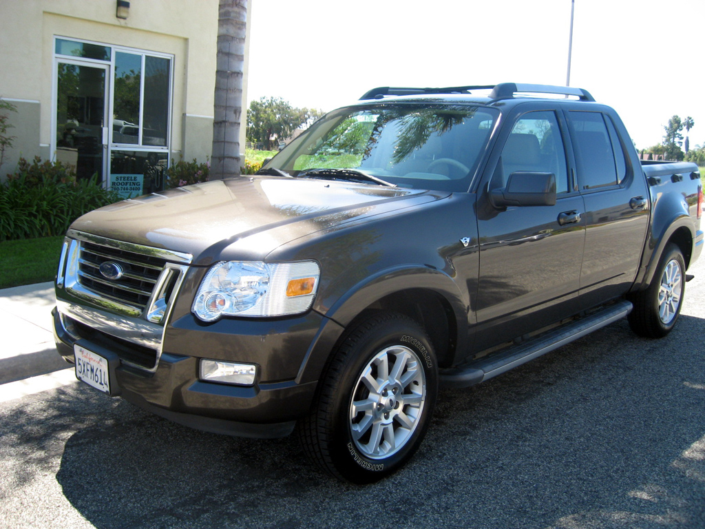Ford Dealers San Diego >> 2007 Ford explorer sport track limited