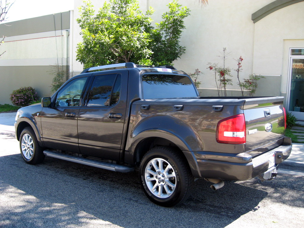 2007 Ford Explorer Sport Trac Limited 2007 Ford Explorer