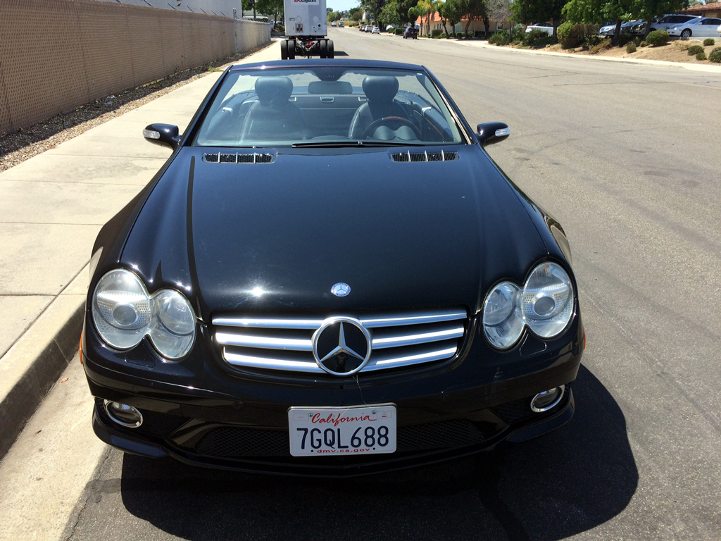 2007 Mercedes SL550 - Click Image to Close