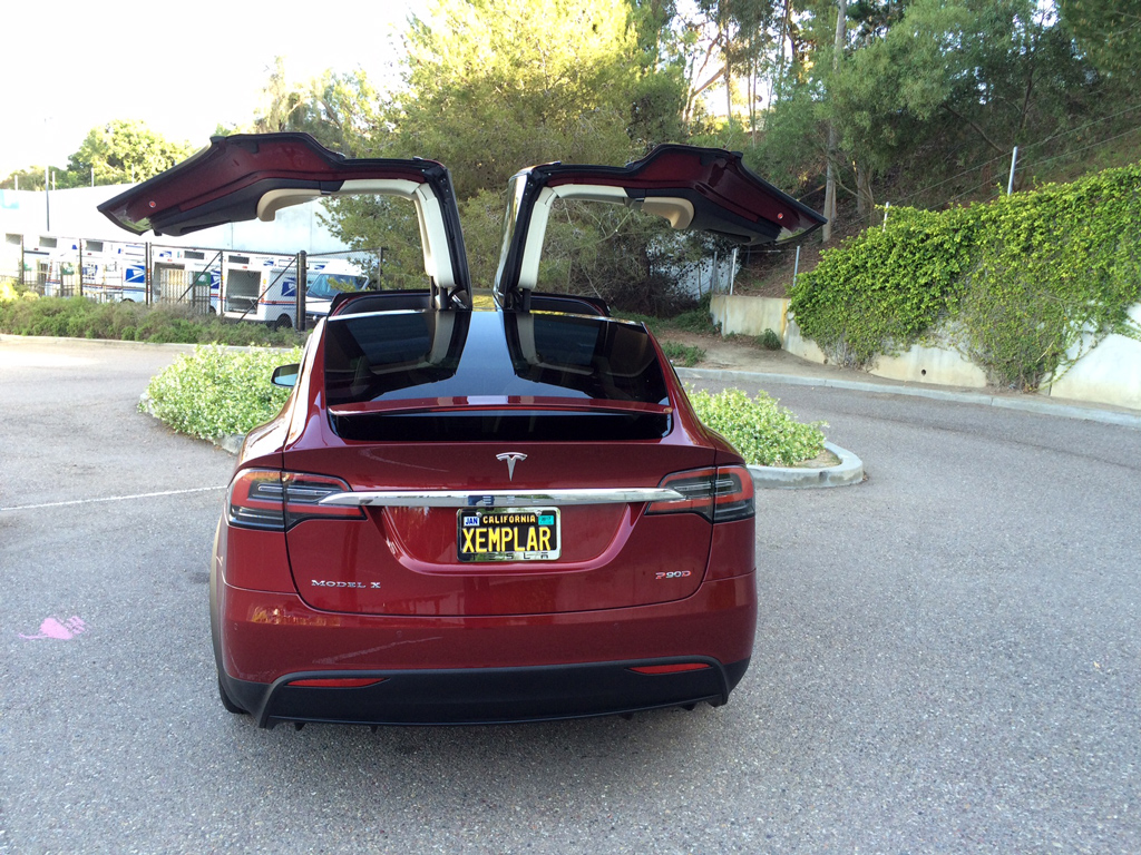 2016 Tesla Model X-SOLD - Click Image to Close