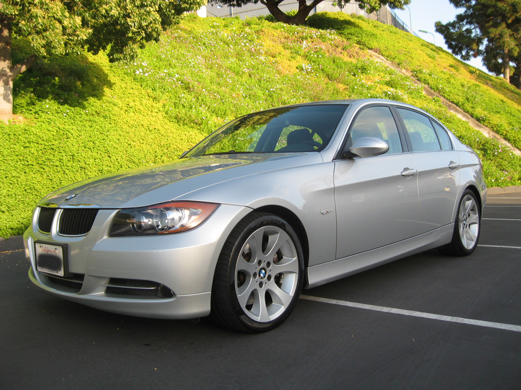Jaguar San Diego >> 2007 BMW 335i Sedan Silver on Black with Sport Package and Premium Package - Auto Consignment of ...