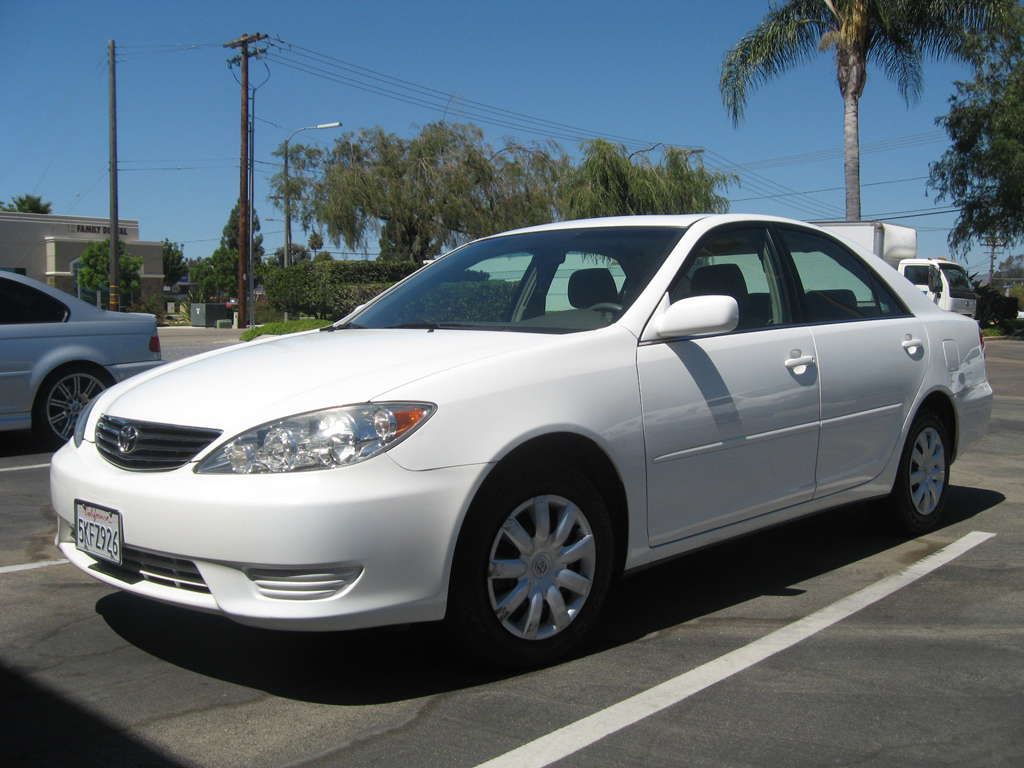 Gmc Parts San Diego >> 2005 Toyota Camry LE White on Tan - Auto Consignment San Diego