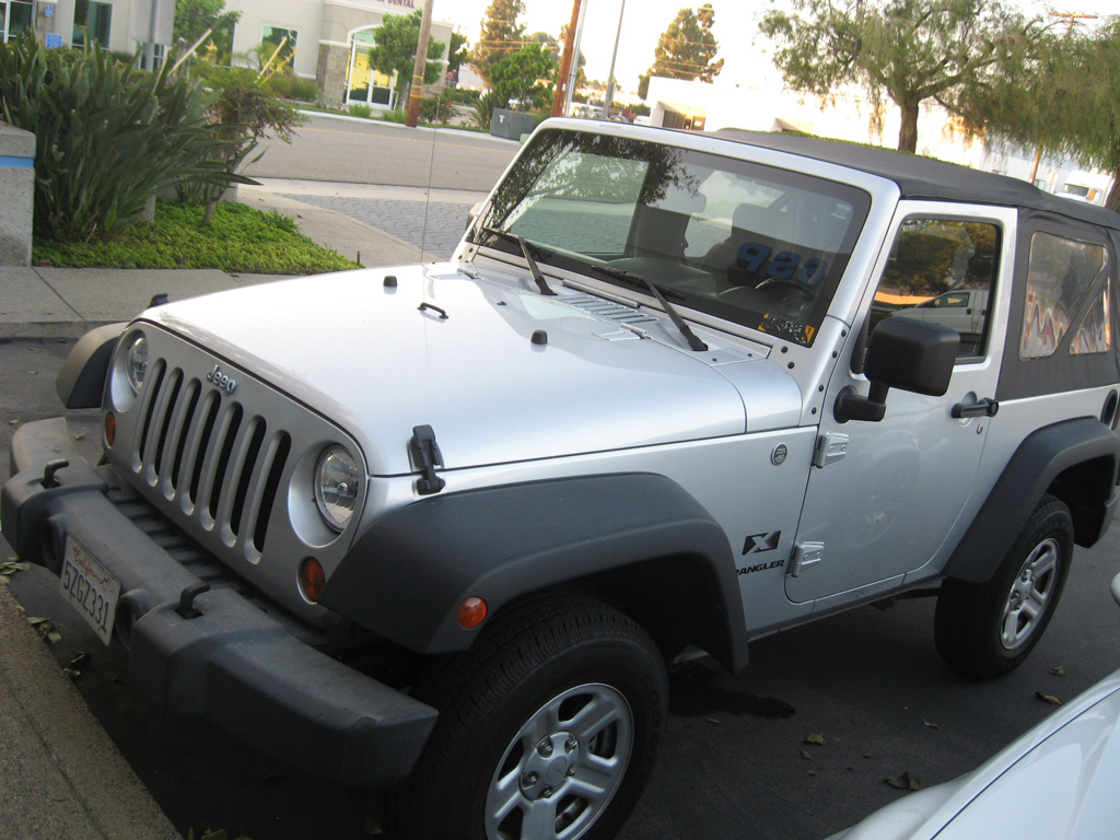 Attractive 2007 Jeep Wrangler X Sport   SOLD