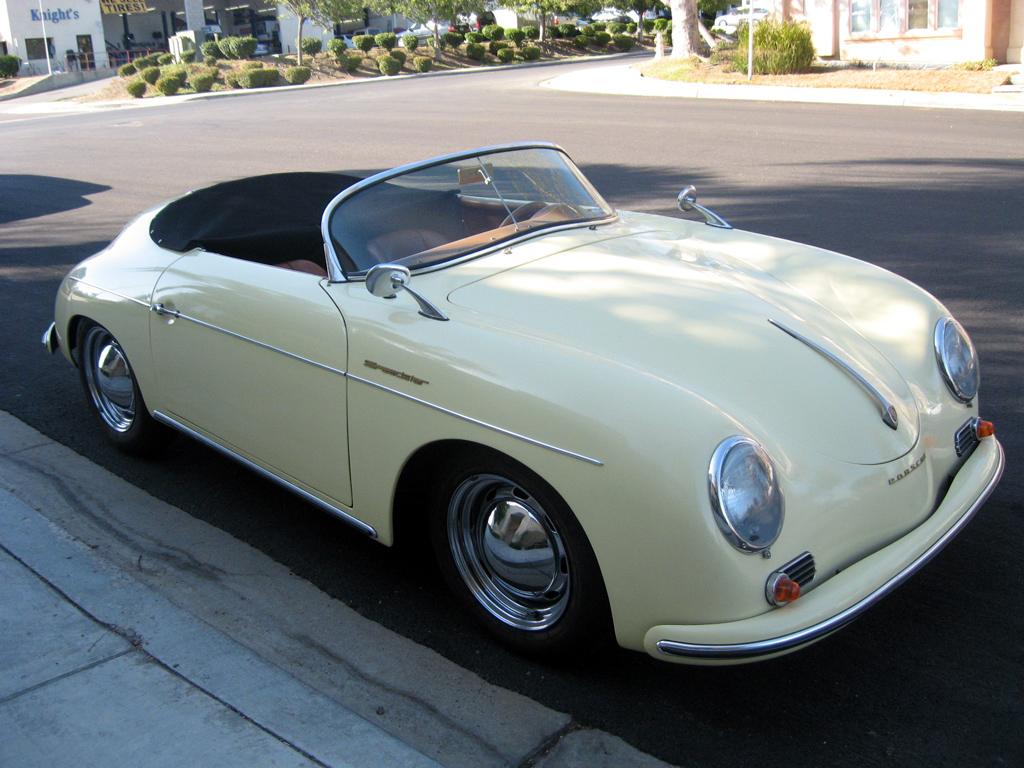 San Diego Jeep >> 1957 Porsche Speedster Replica Red [1957 Porsche Speedster ...