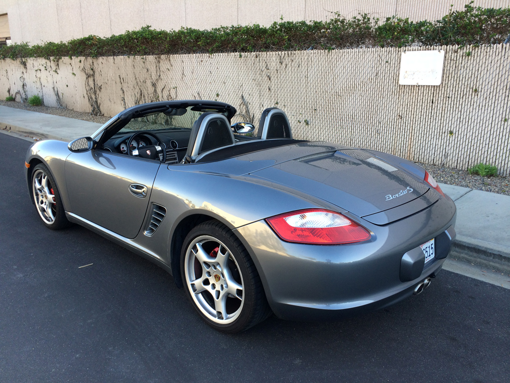 2006 porsche boxster s related infomation specifications weili automotive network. Black Bedroom Furniture Sets. Home Design Ideas