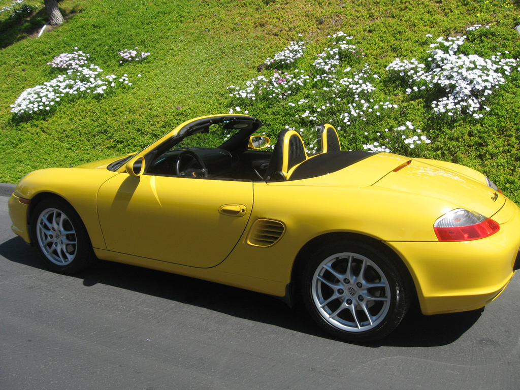 2003 Porsche Boxster Yellow San Diego - Carlsbad - Auto Consignmnet of San Diego [Porsche Boxster]