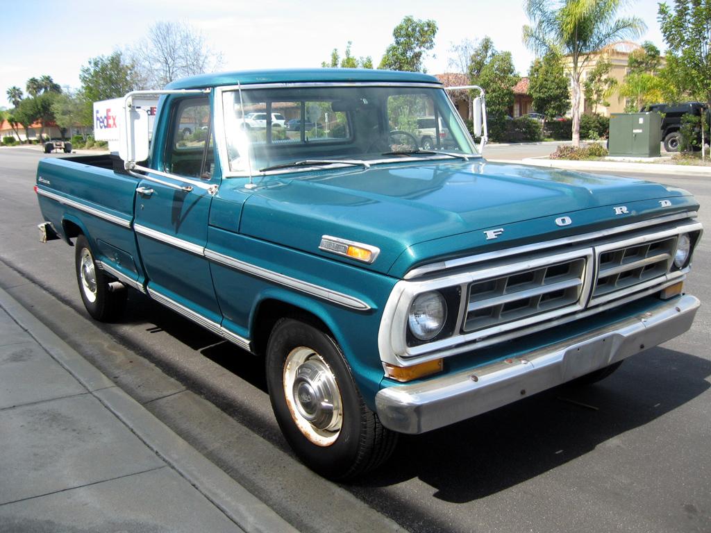 Subaru San Jose >> 1971 Ford F250 Truck [1971 Ford F250 Truck] - $5,900.00 ...