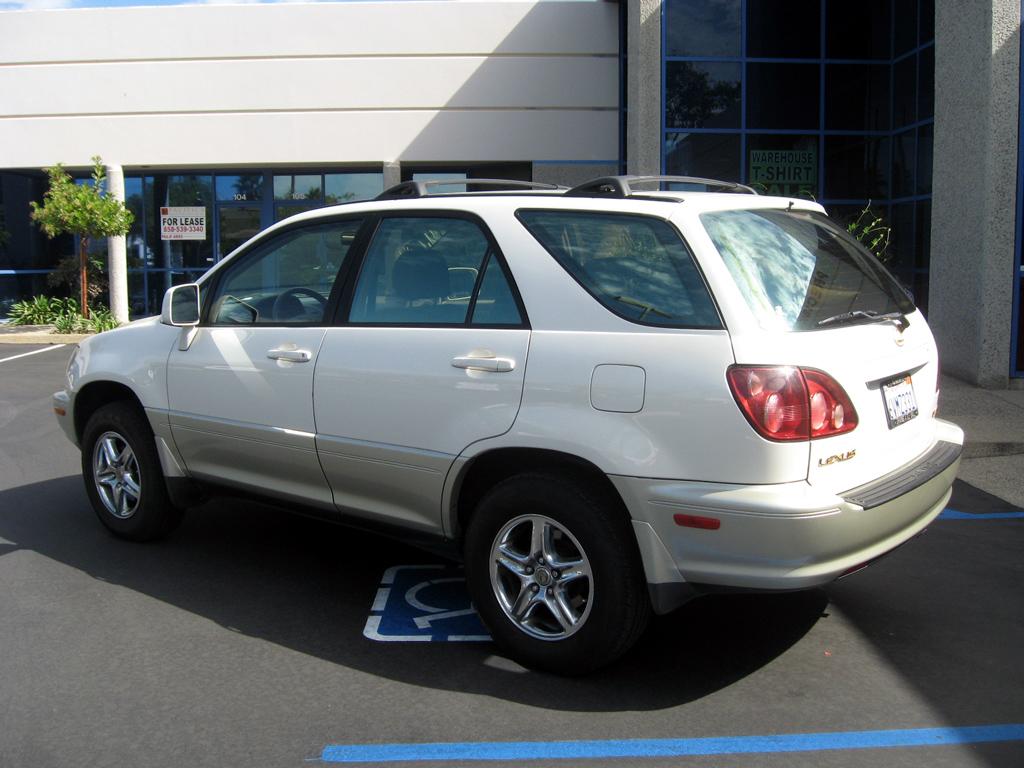 San Diego Toyota >> 2000 Lexus RX300 - SOLD [2000 Lexus RX300] - $8,900.00 : Auto Consignment San Diego, private ...