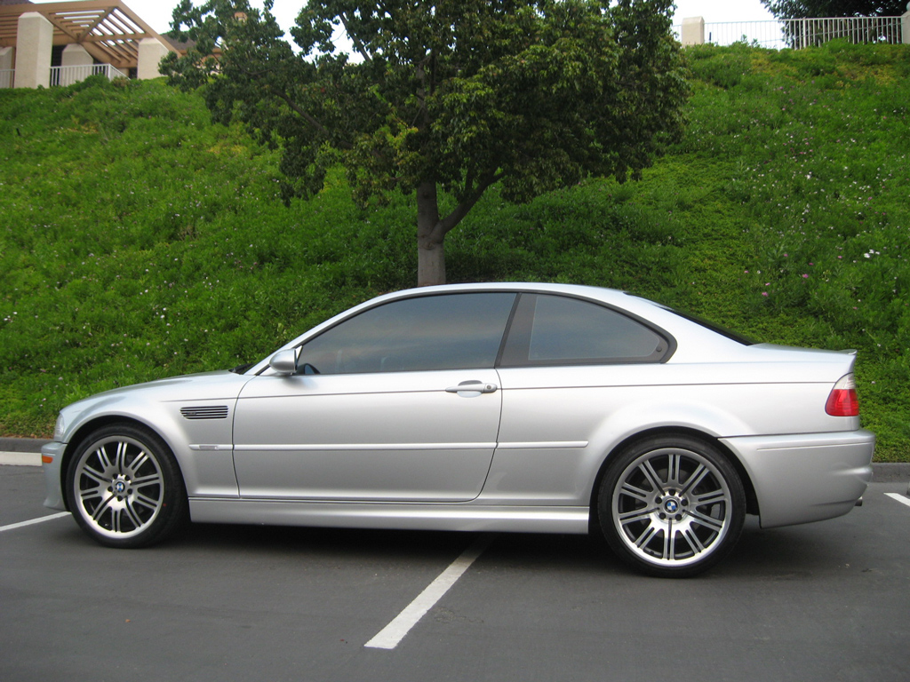San Diego Porsche >> 2002 BMW M3 Coupe - SOLD 2002 BMW M3 Coupe E46 M3 Silver on black 6 speed manual - Auto ...